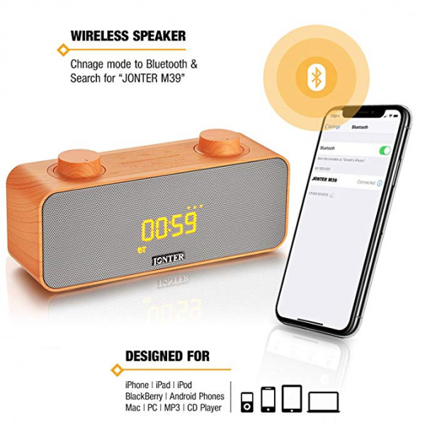 Jonter M39 Wireless Bluetooth Speaker