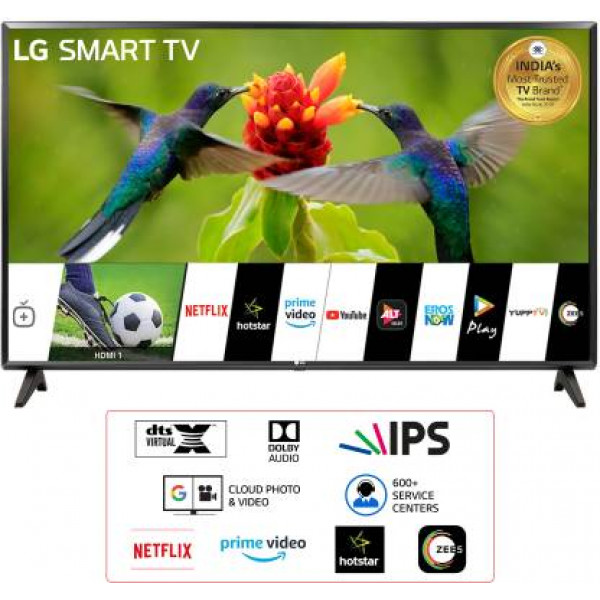 LG All-in-One 80 cm (32 inch) HD Ready LED Smart TV  (32LM560BPTC)